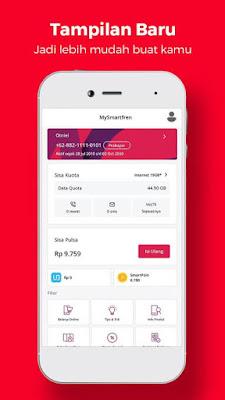 Cek Nomor Smartfreen lewat Aplikasi MySmartfren