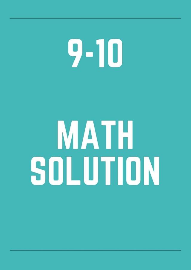 class 9-10 math solution pdf bangladesh
