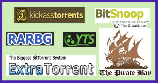 Top10 Most Popular Torrent Sites of 2015