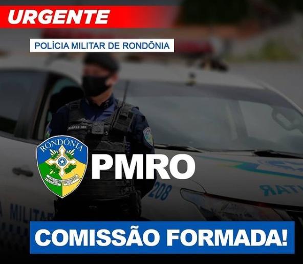 O novo concurso Polícia Militar de Rondônia, anunciado em dezembro pelo governador coronel Marcos Rocha, já conta com comissão organizadora formada.
