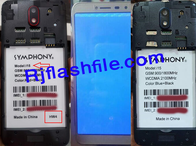 symphony i15 flash file HW4 HW1 ALL Version without password