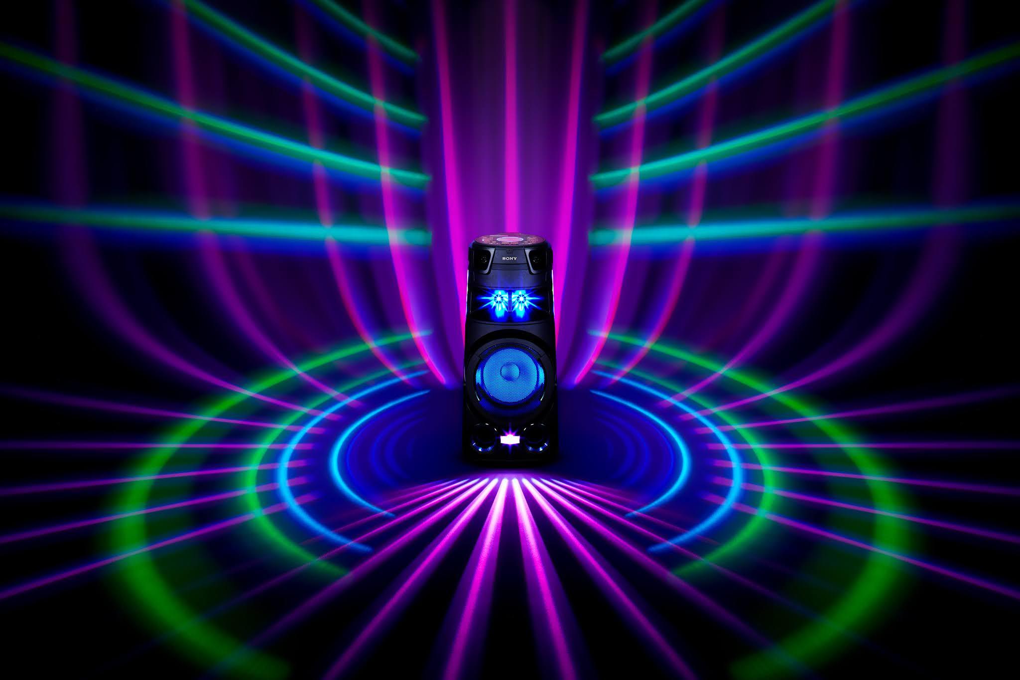 Sony lleva la música a otro nivel con sus nuevos sistemas de audio