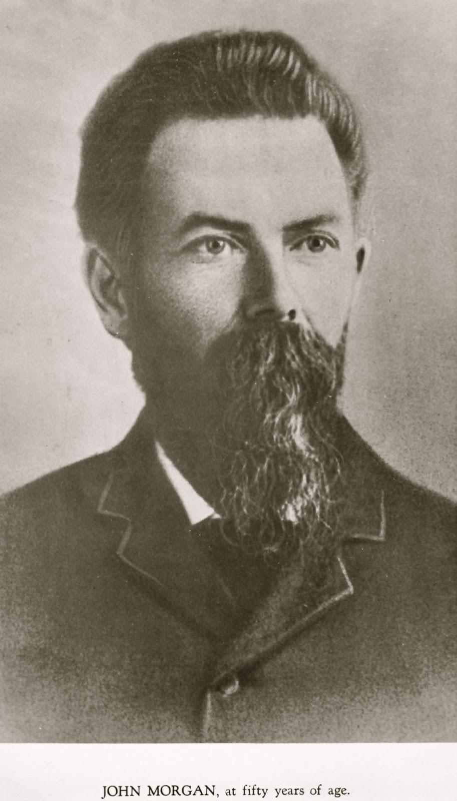 Theancestorfiles Early Mormon Missionaries John Morgan