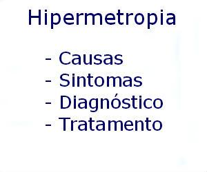 Hipermetropia causas sintomas diagnóstico tratamento prevenção riscos complicações