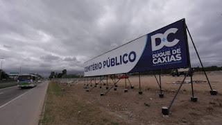 833cce3e045 A construção do cemitério público de Caxias agora está na mira do  Ministério Público Federal (MPF). Após receber denúncias de crime ambiental  na área