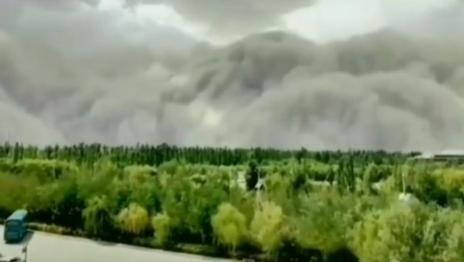 China Kembali Kena Bencana Badai Pasir