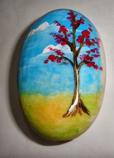 pintura em sabonete como fazer paisagem