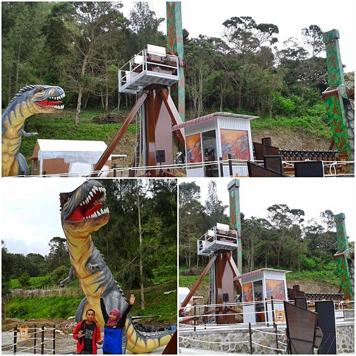Wahana Baru Mikie Holiday Dino Vs Dino