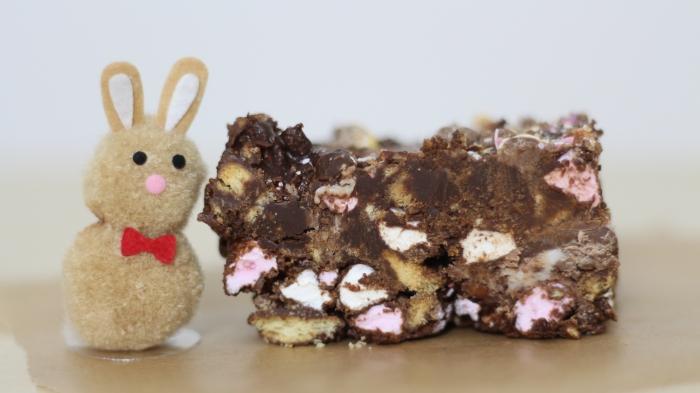 Easter Rocky Road recipe mini egg creme egg