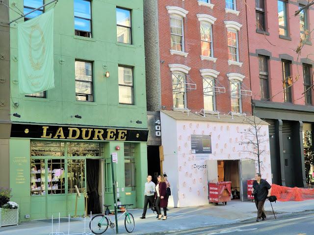 Street view of soho in manhattan - new-york - repetto - laduree