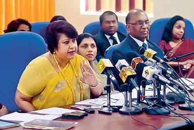 Director general of the Bribery Commission Dirukshi Wickremasinghe