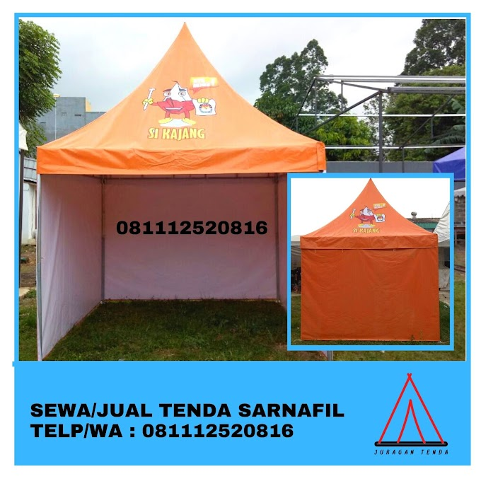 Jual Tenda Sarnafil | Tenda Kerucut 5x5 m | Bogor 081112520816