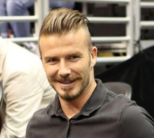 David Beckham Longer Top Hair