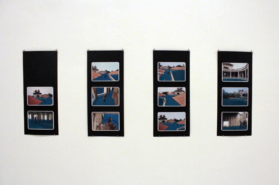 Fotografias intervenidas con pintura de óleo