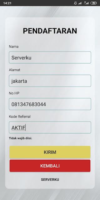 kode referral Serverku