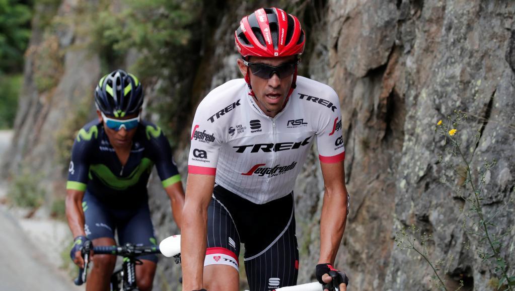Cyclisme: Alberto Contador, bientôt en roue libre