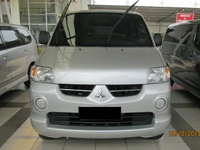 Eksterior Mitsubishi Maven Tampak Depan