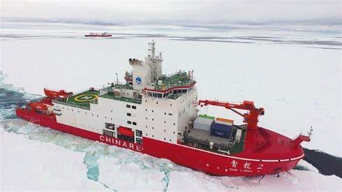الصين والقطب الشمالي