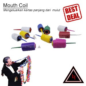 Jual alat sulap Mouth coil indonesia