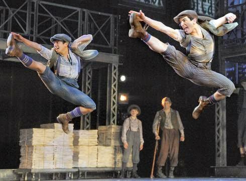 Broadway Tour Review: Newsies - falon loves life
