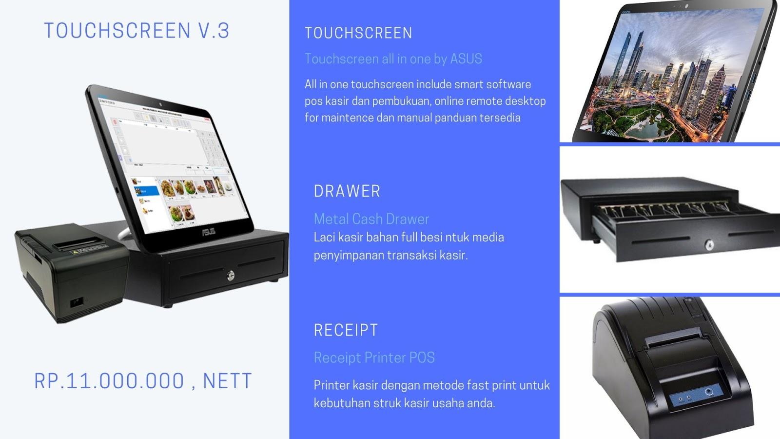 mesin kasir restoran murah