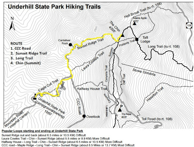Mount Mansfield Vermont Trail Map 2017 2018 Best Cars