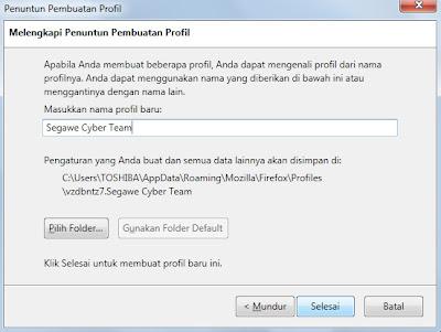 Cara Membuka 2 Akun Facebook Bersamaan dalam 1 Browser Mozilla