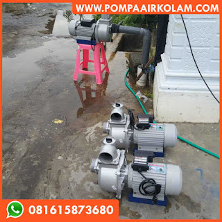 Pompa Air Modifikasi Debit Besar