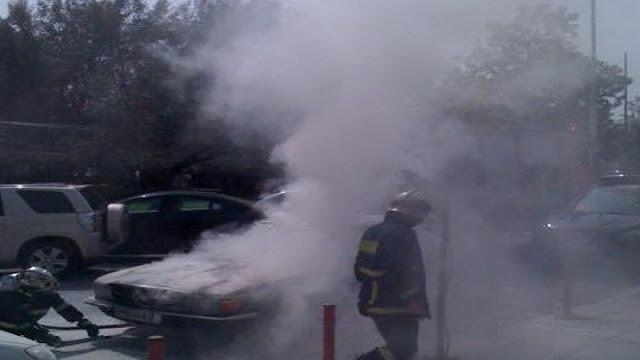 Πυρκαγιά σε αυτοκίνητο στο Βιβάρι Αργολίδας