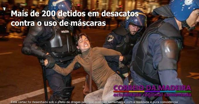 Rusga policial acaba em desacatos