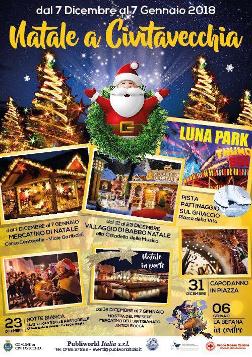 Natale A Civitavecchia (RM) Dal 7 Dicembre 2017 Al 7 Gennaio 2018