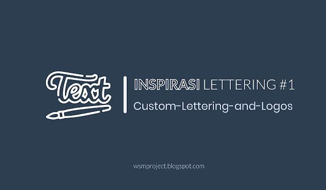 Inspirasi Karya Lettering