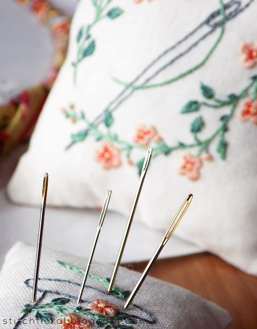 10 things to remember about hand embroidery needles