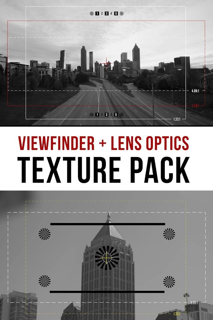 Master Filmmaker – Viewfinder + Lens Overlay Pack