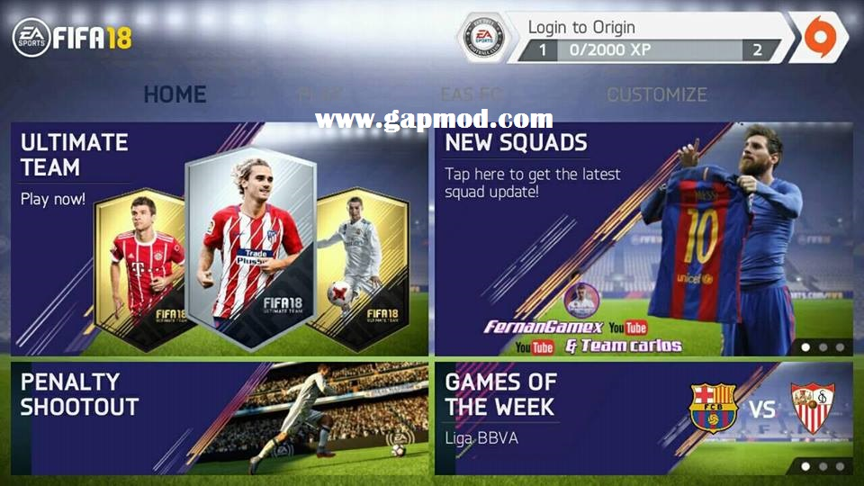 💣 Fifa 18 manager mod apk | FIFA 18 Mobile Soccer Android