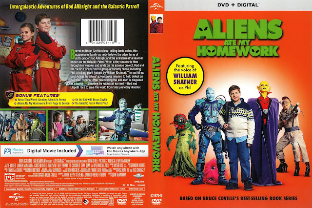 Aliens Ate My Homework DVD Cover