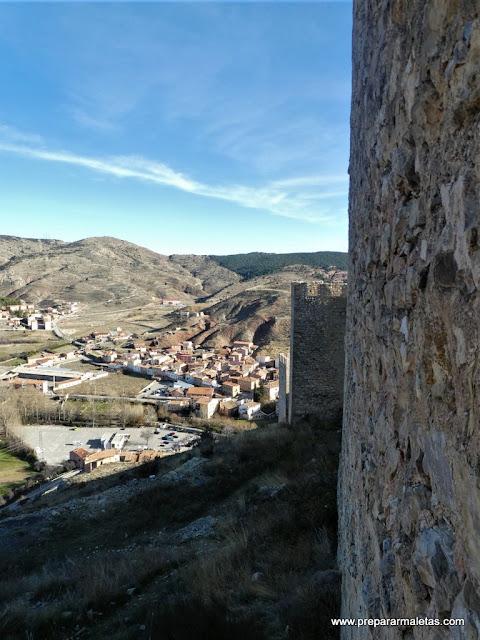 recorrido por la muralla de Albarracín