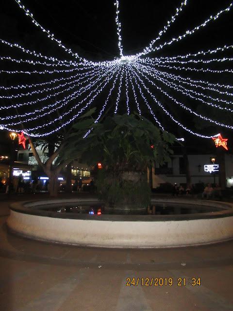 an Heiligabend spazierten wir durch Puerto de la Cruz