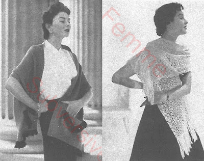 The Vintage Pattern Files: Free 1950's Knitting Pattern - Busy Fingers Vol 1