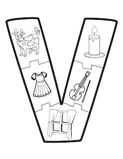 imágenes del abecedario para dibujar