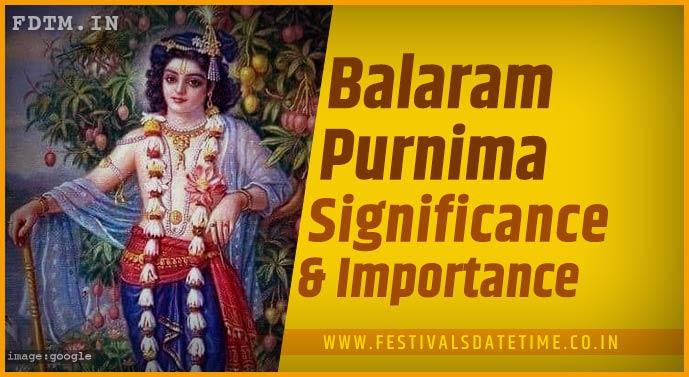 Balaram Purnima Puja Vidhi and  Balaram Purnima Vrat Katha