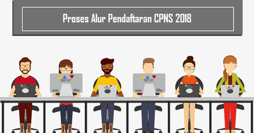 Formasi Pendaftaran Pppk: Detail Alur Proses Pendaftaran CPNS 2018