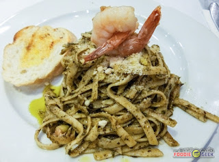 pesto pasta, Yummy All-Day Brunch Meals at Little Owl Cafe