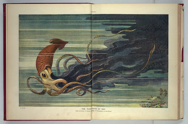 The giant squid at bay / Keppler