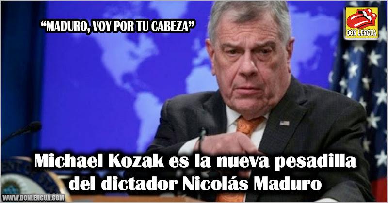 Michael Kozak es la nueva pesadilla del dictador Nicolás Maduro