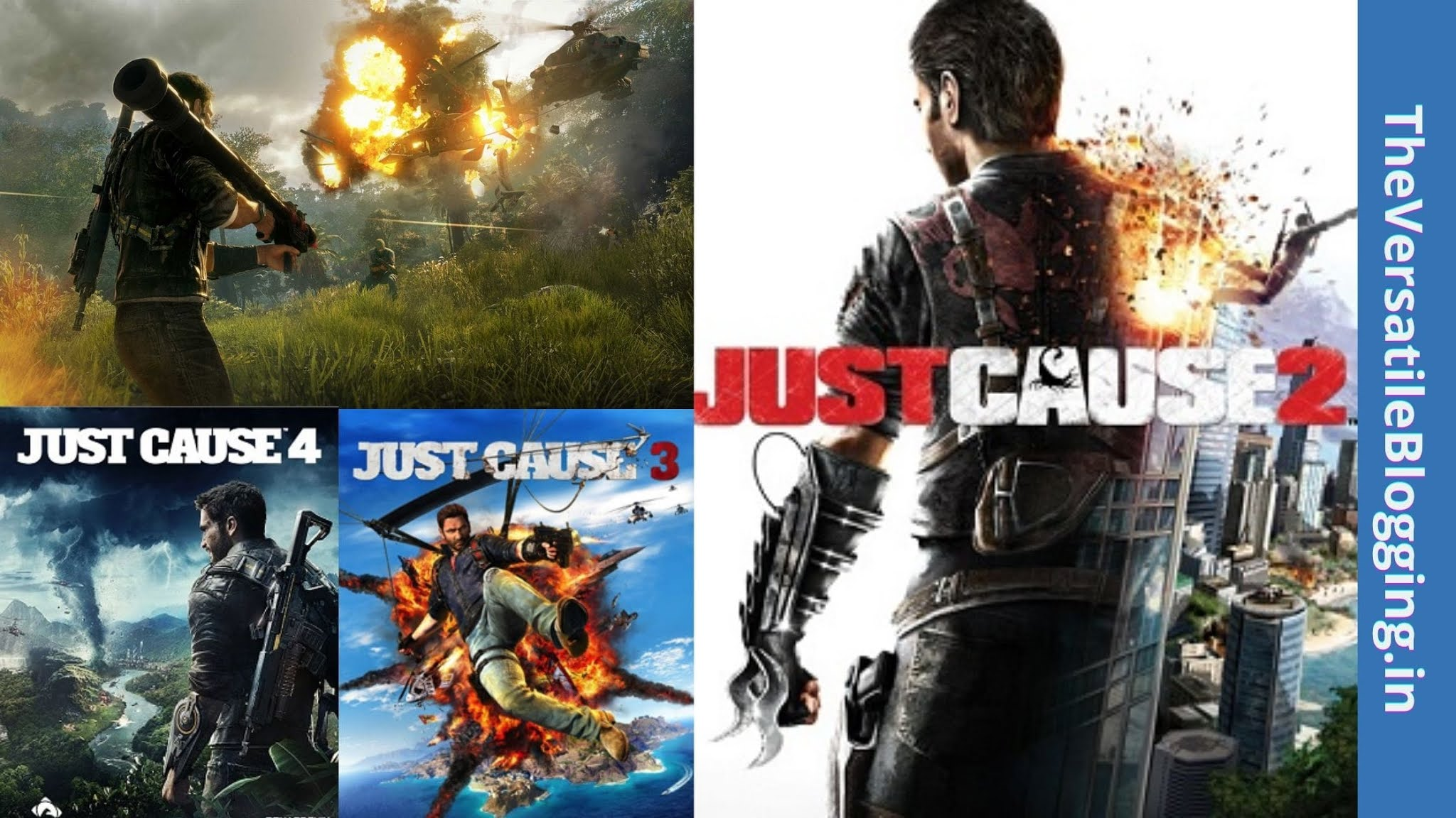 Just Cause Series - Best Games Like GTA For PC [Latest]