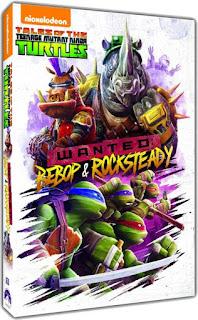 DVD Review - Tales of the Teenage Mutant Ninja Turtles: Wanted: Bebop & Rocksteady
