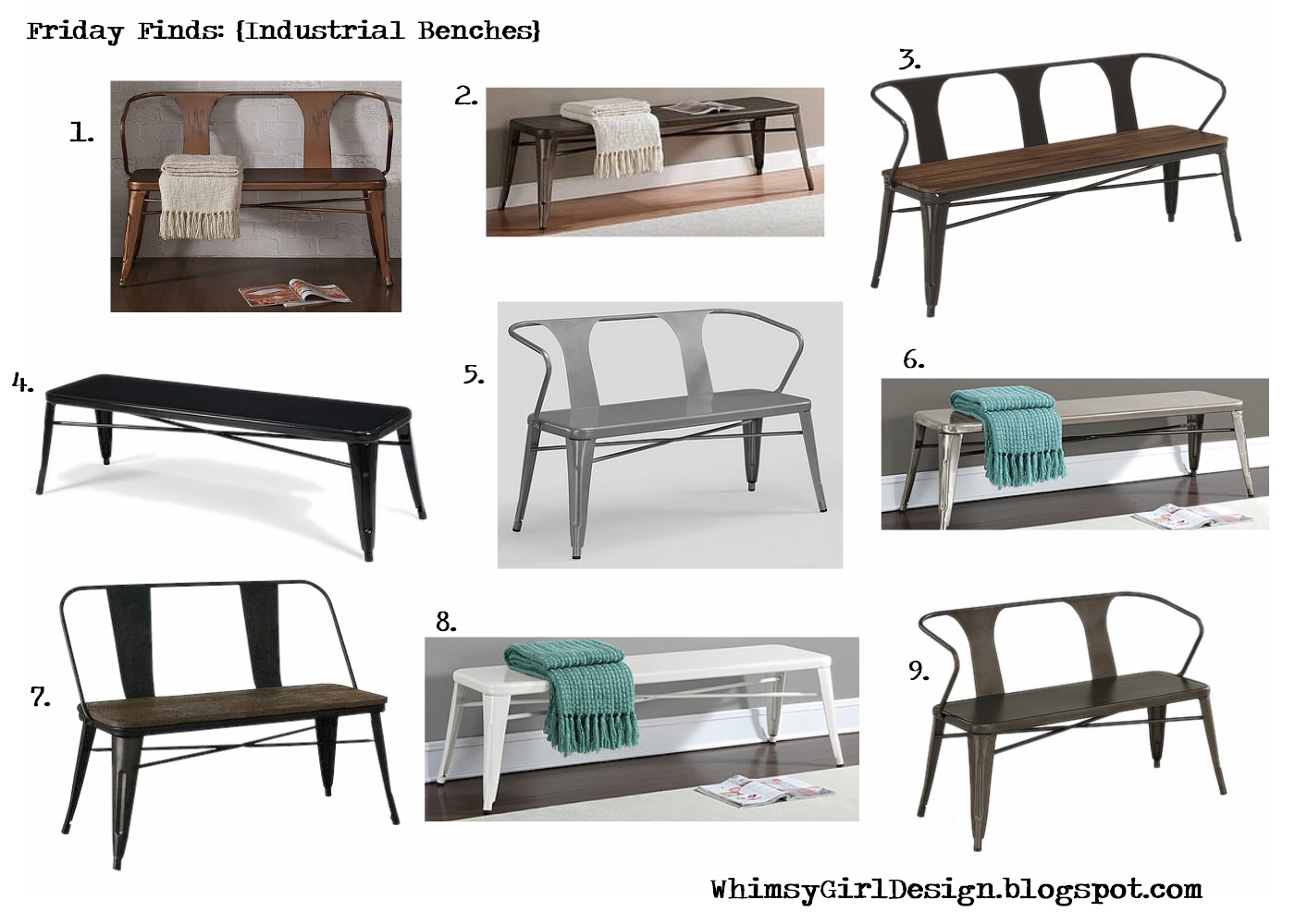 Affiliate Links To Each Bench Are Listed Below The Picture Just Click On Corresponding Number Description Find Benches Pictured