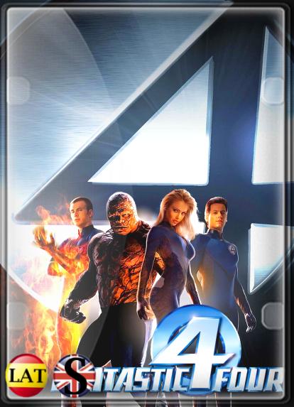 Los 4 Fantásticos (2005) FULL HD 1080P LATINO/INGLES