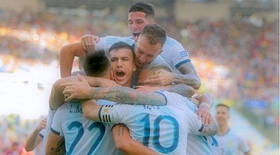 Argentina takes advantage of Venezuela's second defense in quarterfinals
